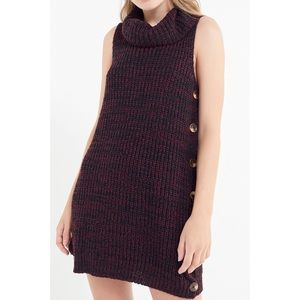 Urban Outfitters | Turtleneck Sweater Dress sz S